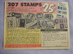 1963 Ad Zenith Stamp Co. 11 Different Collections